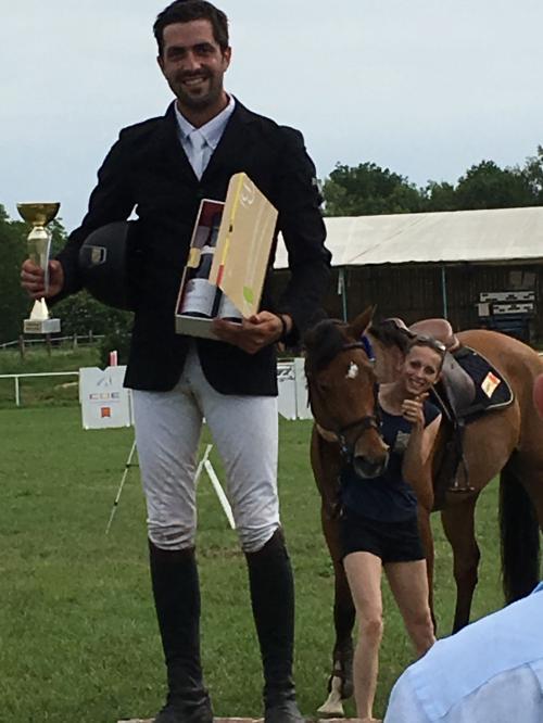 Aurélien remporte l'épreuve Pro2 135